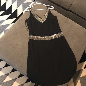 Black dress with beading!